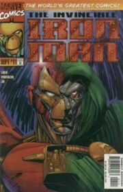 Iron Man #11 Volume 2 (1996 Series) Doctor Doom Marvel Comics